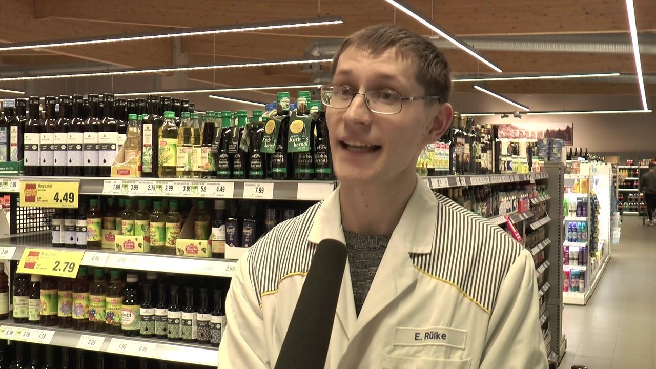 """Edeka Schellig in Oederan - """"Leinölverkostung"""" - YouTube"""