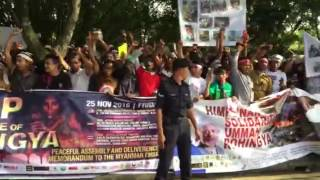 Mass rally in Malaysia calling for support of Myanmar