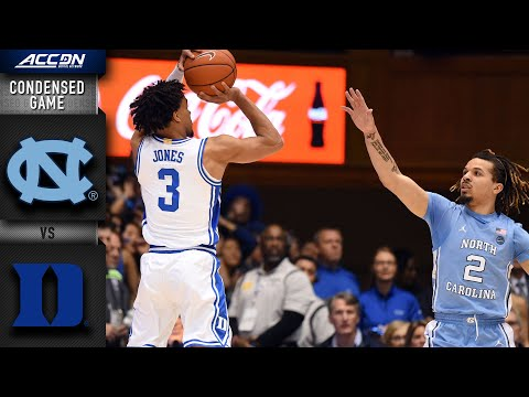 North Carolina Vs. DukeCondensed Game | 2019-20 ACC Men's Basketball