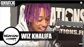Wiz Khalifa - ITW (Live des studios de Generations)
