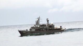 1/100 RC 護衛艦 ゆうぎり フルスクラッチ製作記