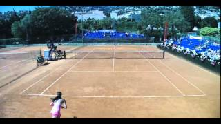 Benamar (FRA) - Criveletto (SUI) 6/4 7/5 (Part. 1/4) - ITF Beaulieu 2015 Junior W, Tour 1