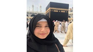 Javeria saud live from khana kaba