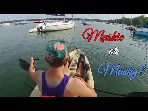 Muskie Fishing Minnesota Metro - Lake Harriet