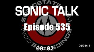 Sonic TALK 535 - The Smell Of Old Synths