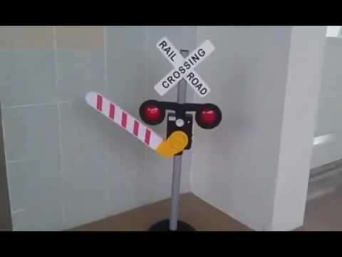 Railroad Crossing Toy RENT KIDDY TOYS - YouTube