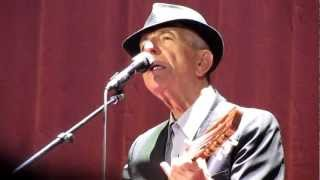 Leonard Cohen - The Guests [Live in Madrid 2012]