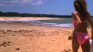 Hard Ticket to Hawaii -  Frisbee Scene