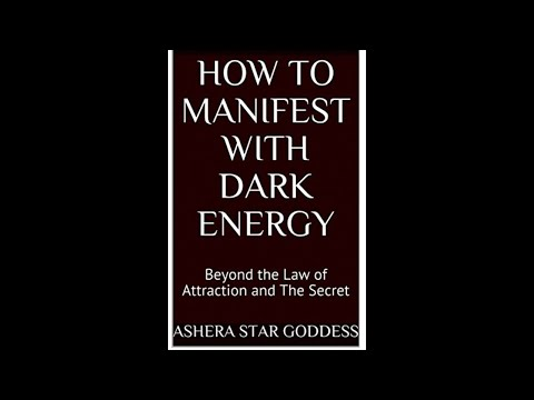 Book Release How To Manifest With Dark Energy