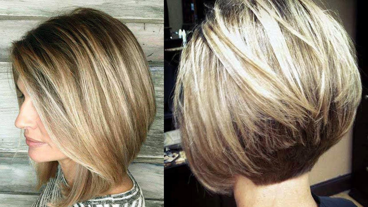 Amazing Bob Hairstyles for Women with Thin Hair & Fine Hair - YouTube