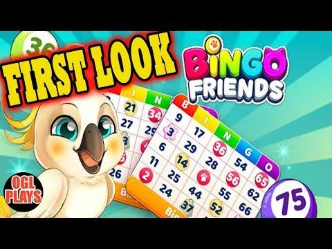 Bingo Friends - Free Bingo Games Online - Gameplay First Look