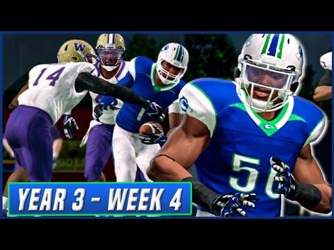 NCAA Football 14 Dynasty Year 3 - Week 4 vs #1 Washington | Ep.40
