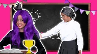 Spelling Bee at Princess School 🐝 Lilliana Vs. Malice! - Princesses In Real Life | Kiddyzuzaa