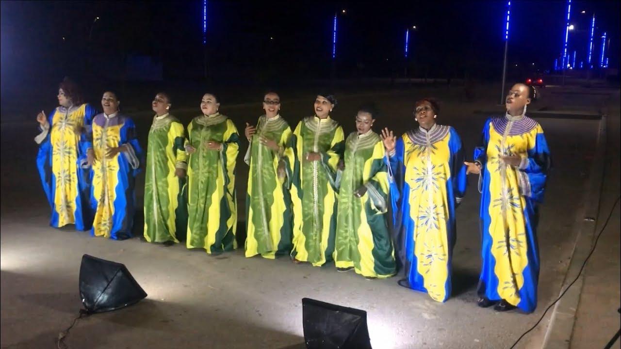 Diamond Modern Taarab (musical group) - public shooting in Fumba - YouTube