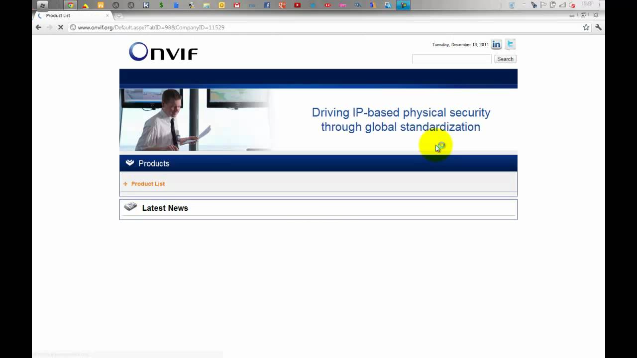 How to enable Onvif in your Axis network camera