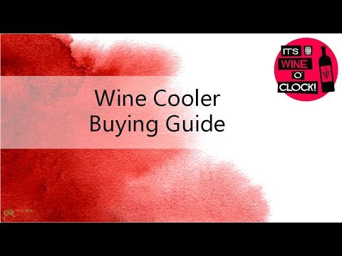 2018's Best Wine Cooler Buying Guide