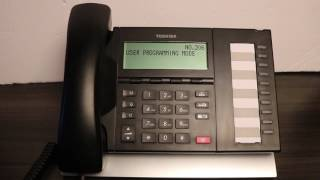 How To Program One Touch Dialing on a Toshiba Digital Phone