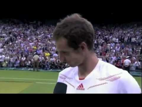Federer and Nadal Reaction to Andy Murray Wimbledon Finals