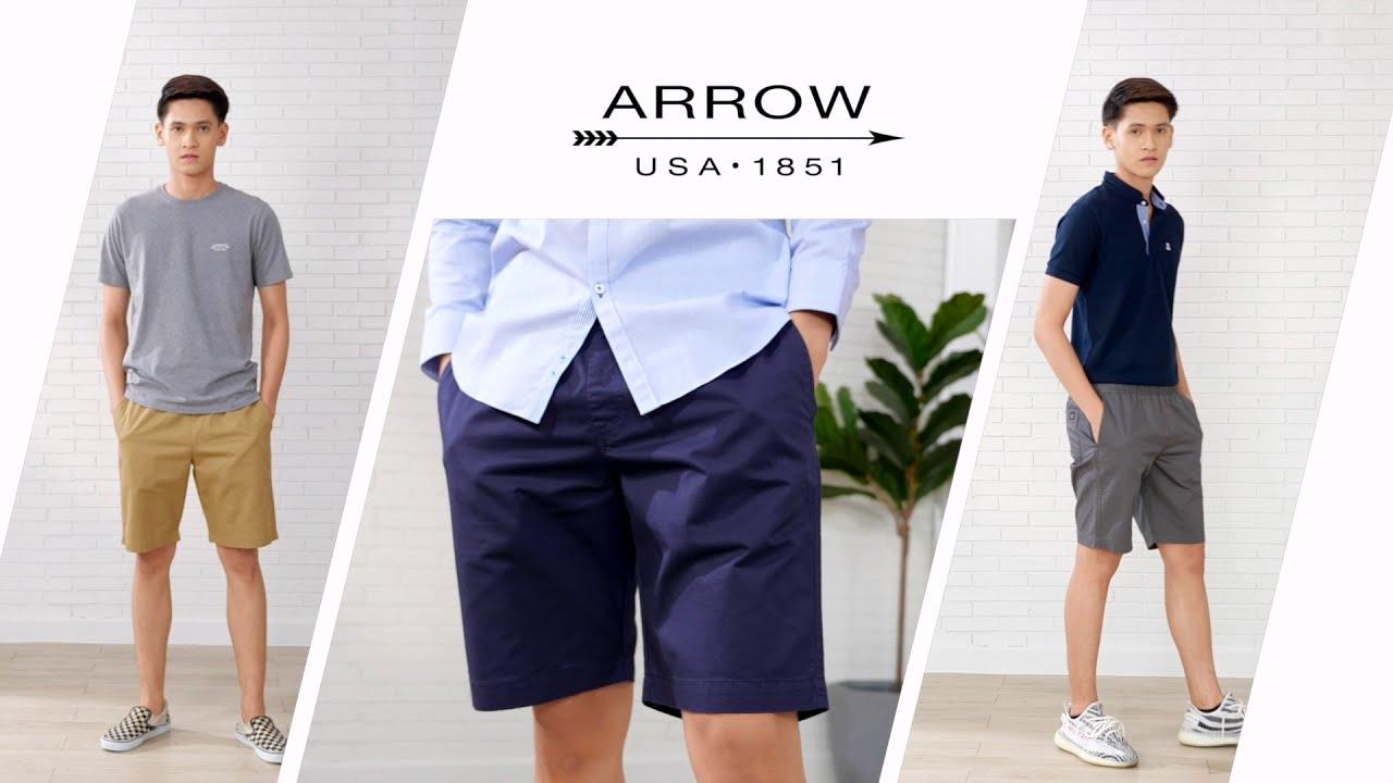 กางเกงขาสั้นชาย ARROW [happy shopping]