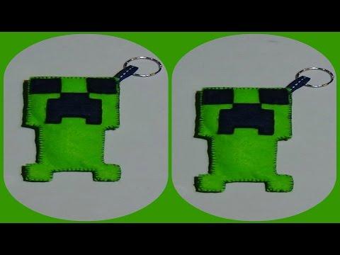 DIY - How to make a handmade Creeper (Minecraft)