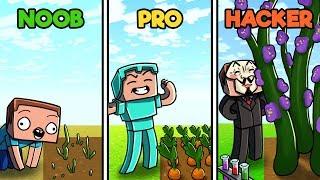Minecraft - FAMILY FARM HOUSE CHALLENGE!