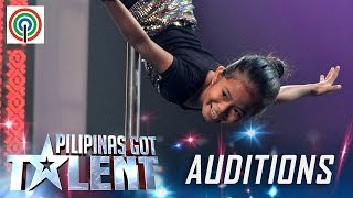 Pilipinas Got Talent Season 5 Auditions: Alyza Imatong - Kid Pole Dancer