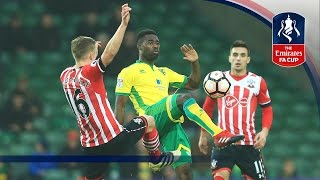 Norwich City 2-2 Southampton - Emirates FA Cup 2016/17 (R3) | Goals & Highlights