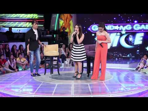 Morissette Amon and Klarisse De Guzman sung their own version of Bubble Bath on Gandang Gabi Vice