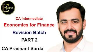 All of CA Inter Economics For Finance in just 6 hours PART 2