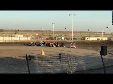 Lemoore Raceway 8/24/19 Jr Sprint Heat- Cash
