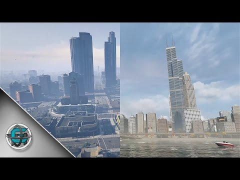 GTA V vs Watch Dogs - PC Graphics
