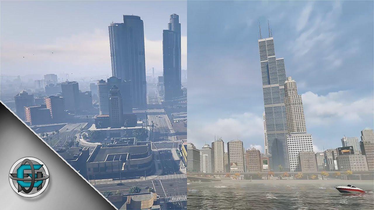 gta v city in real life