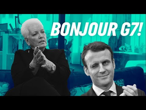 CRASHING the French President's SUPER FANCY Party | Gabbing with Gayle | ONE Campaign