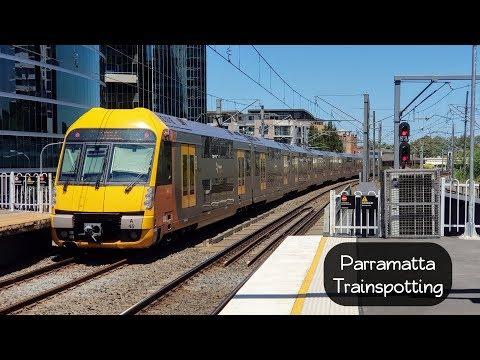 Sydney Trains Vlog 1434: Parramatta Trainspotting