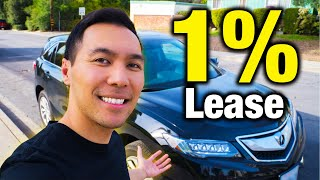 Leasing Secrets: How I Managed To Get A 1% Car Lease (No Money Down)