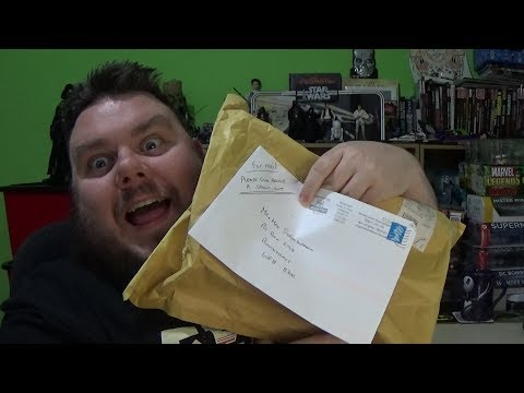 PO Box Opening - Mystery Box & Awesome Fan Mail (SuperSorrell)