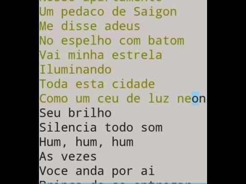 Saigon - Emilio Santiago - Karaoke - Instrumental