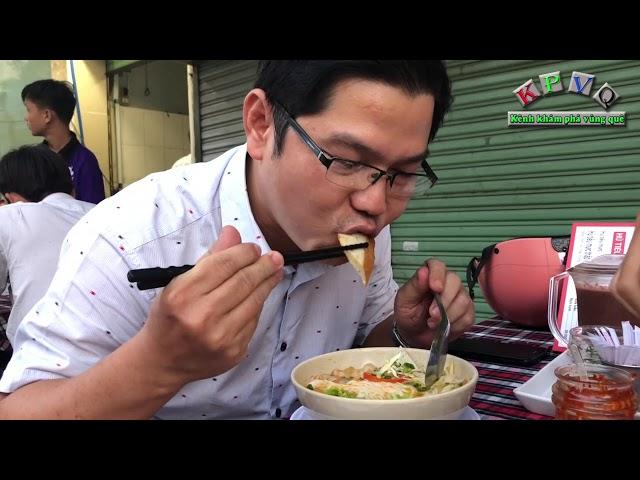 Đậm đà món bún cá Yến Nha Trang ở Sài Gòn