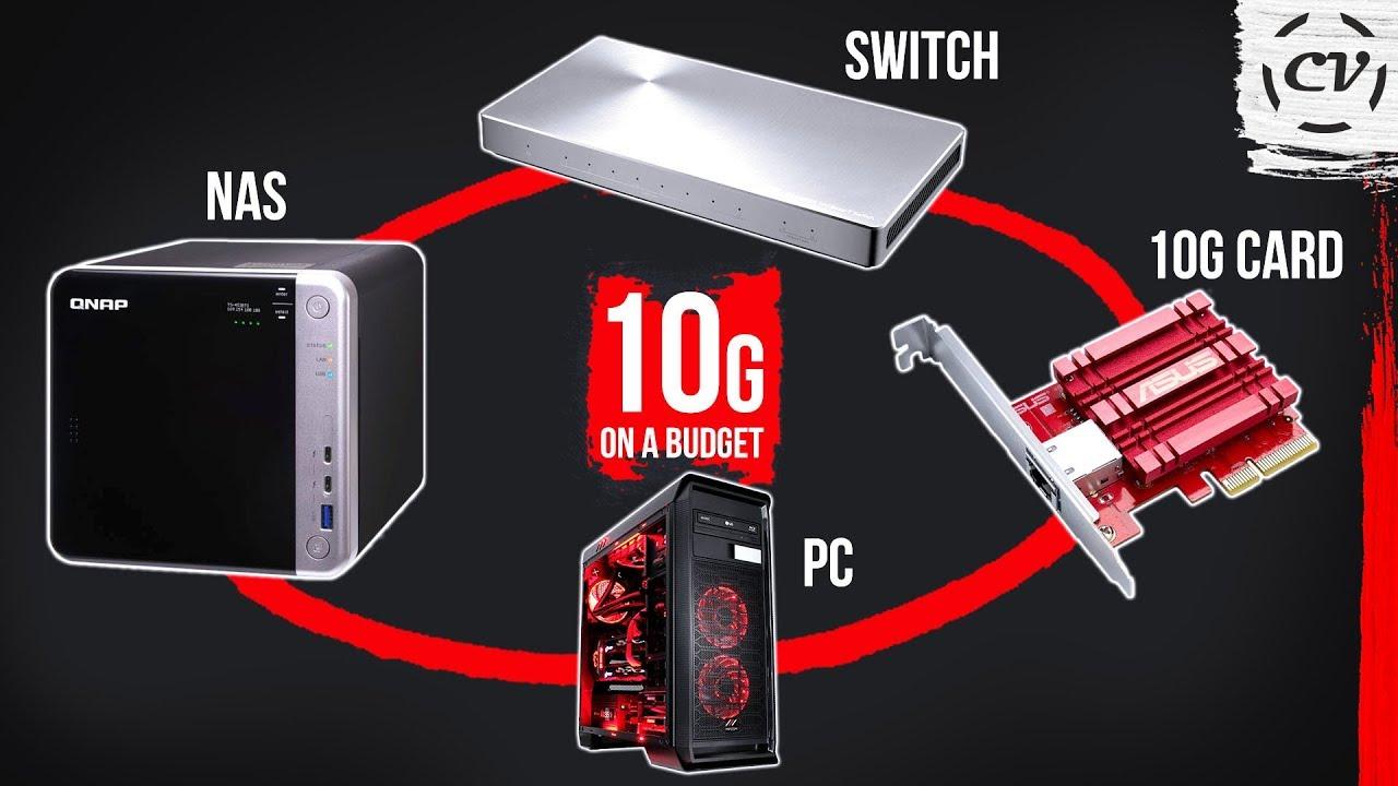 10G Home Network On A Budget (10 Gigabit Ethernet)