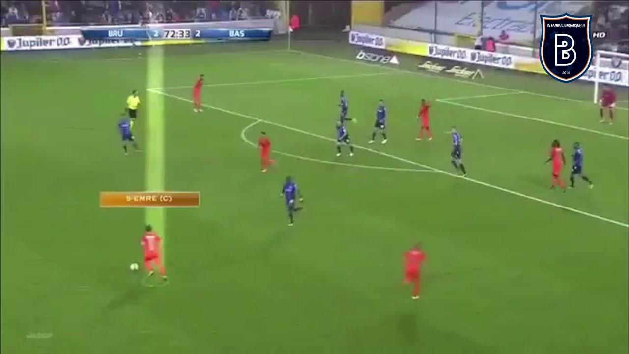 İstanbul Başakşehir FK Aynı Barcelona Gibi Ders Vererek Gol Atıyor - İşte O Muhteşem Gol