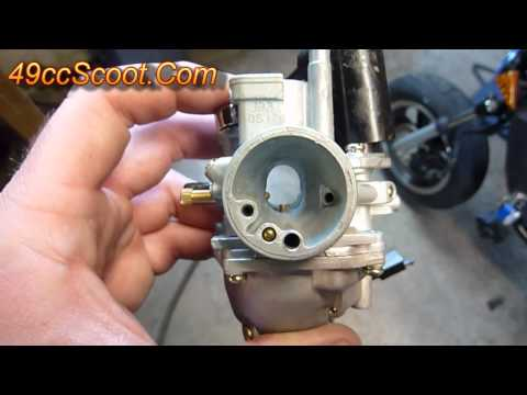 Two-Stroke Scooter / ATV Carburetor Settings And Adjustments 1of4 : Basics, Overview