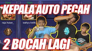 KEPALA AUTO PECAH!!! |  MABAR AMA 2 BOCAH WARRIOR | Mobile Legends