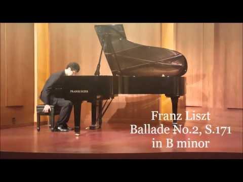 F. Chopin - Barcarolle Op.60, F. Liszt Ballade No.2 S.171