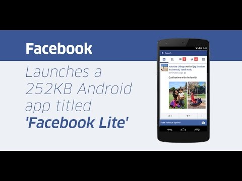 install facebook lite app for android