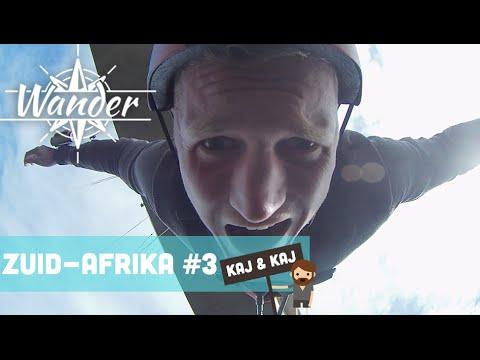 Kaj & Kaj #3: Hoogste bungeejump brug ter wereld! - Wander Zuid-Afrika