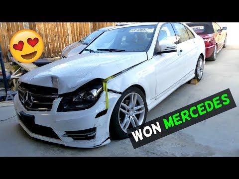 BUYING MERCEDES FROM COPART CAR AUCTION WITH NO LICENSE
