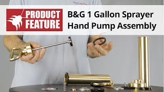 B&G Sprayer Hand Pump Assembly