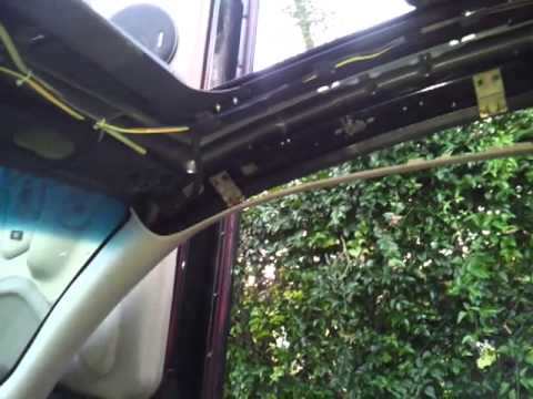 2002 Trailblazer Wiring Diagram Jvc Stereo Sunroof Replacement - Youtube