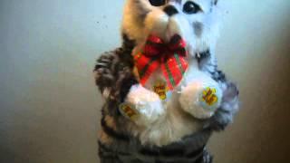 Поющий кот игрушка