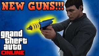 New Arena war DLC Weapons preview! - GTA Online guides